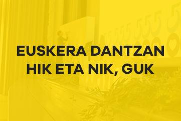 Euskera dantzan